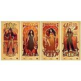 Firefly Serenity Les Femmes Poster Set