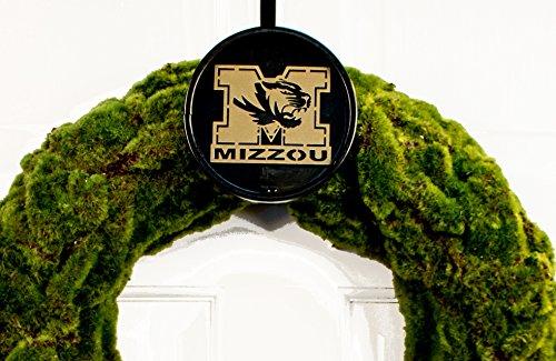 Terri Metall funktioniert Universität von Missouri Collegiate Logo Kranz Halterung