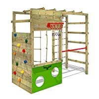 Fatmoose CleverClimber Club XXL Wooden Playground Climbing Tower