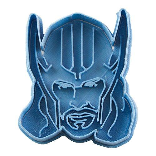 Cuticuter Superhelden Thor Ausstechform, Blau, 8x 7x 1.5cm