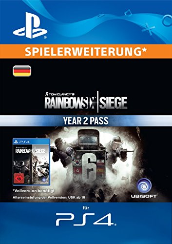 Tom Clancy's Rainbow Six Siege Year 2 Pass [PS4 Download Code - deutsches Konto]