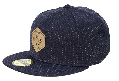New Era NE Hex Patch Cap 7 3/8 navy Navy Fitted Cap