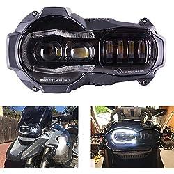Faros led Moto Delantero Moto para R1200GS R 1200 GS adv r1200gs A/C 2004, 2005, 2006, 2007, 2008, 2009, 2010, 2011, 2012 Faro Completo