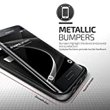 Galaxy S7 Edge Hülle, VRS Design [High Pro Shield Serie] Schlanke Hülle mit Militärischer Schutz für Samsung Galaxy S7 Edge 2016 - Schwarz Silber Bild 1