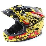 Qazwsx Motorradhelm Full Face Off-Road-Helm Downhill Helm Motorradhelm Liner Für Männer,D,XL