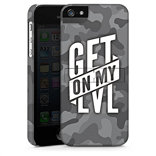 Apple iPhone 8 Hülle Premium Case Cover Montanablack Fanartikel Merchandise Get On My Level Gray Premium Case StandUp