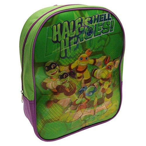 Teenage Mutant Ninja Turtles TMNT Charakter Kinder rucksack mit Hologramm (Hat Tmnt)