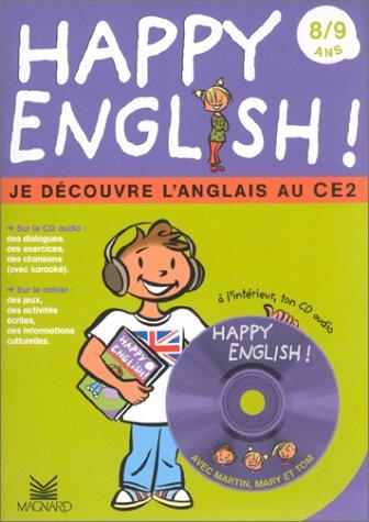 Happy english : Je découvre l'Anglais au CE2 (1 livre + 1 CD audio)