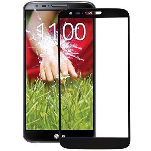 Frontglas Ersatzglas Displayglas für LG G2 Screen + Werkzeug Reparaturset Scheibe schwarz (Lg G2 Display Lcd Austausch)