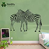 Zebra Banksy Wall Sticker Vinyl Art Animal Poster Fashion Decor Nursery And Kids Room Fashion Decals 57X82cm
