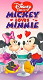 Disney Mickey Loves Minnie (VHS Video)