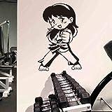 Taekwondo Boxing Club Judo Karate Aufkleber Kick Boxer Spielen Auto Aufkleber Free Combat Poster Vinyl Striker Wandtattoos D Karte Farbe 58x89cm
