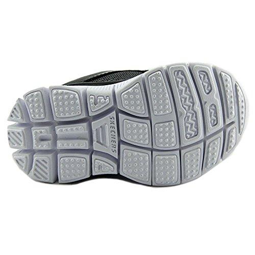 Skechers Flex Advantage-Mini Rush Maschenweite Tennisschuh Charcoal/Black