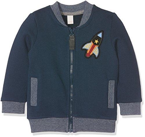 Esprit Kids Baby-Jungen Sweatshirt Sweat Shirt, Blau (Ink 415), One size (Herstellergröße: 62)
