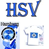 TV-24 Hamburg Armbanduhr + Hamburger HSV Magnet-Pin