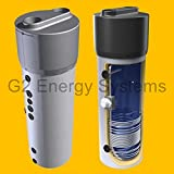 260 L Liter Luft Wasser Wärmepumpe mit Wärmetauscher Wasser Heizung Keller