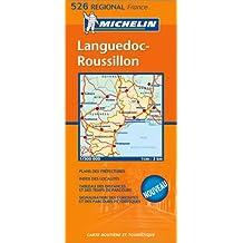 Carte routière : Languedoc-Roussillon