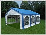 Pavillon Pavillion Festzelt Partyzelt Modular Pro PE 3x6 6x3 3x6m 6x3m MIT Fenster blau