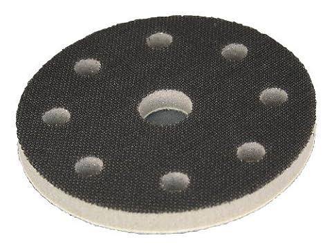 Softauflage Ø 125mm 8+1-Loch (Festool) Interface-Pad für Schleifteller Polierteller Stützteller für Klett-Schleifscheiben - DFS