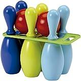 Ecoiffier 157 Jeu de Plein Air  6 quilles de bowling 23 cm - Coloris aléatoire