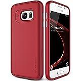 Funda Galaxy S7, VRS Design [Single Fit][Rojo] - [Caída Protección][Ajustado] - Para Samsung Galaxy S7 2016