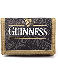 Portefeuille velcro officiel Guinness Noir