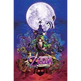 "Pyramid International ""Majora's Mask The Legend Of Zelda"" Maxi Poster, Multi-Colour, 61 x 91.5 x 1.3 cm"