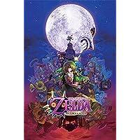 Pyramid International Majora's Mask The Legend Of Zelda Maxi Poster, Multi-Colour, 61 x 91.5 x 1.3 cm
