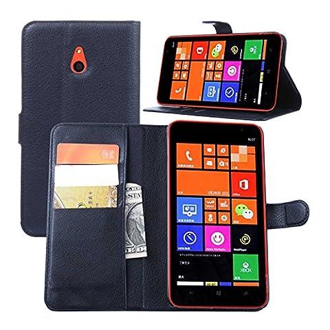Guran® Housse En Cuir pour Nokia Lumia 1320 Smartphone Flip