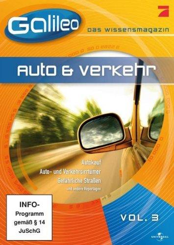 Galileo - Das Wissensmagazin Vol. 3 - Auto & Verkehr (92 Minuten Version) [Pal, Full Length]