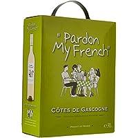 Pardon My French France Vin de Pays IGP Côtes de Gascogne 3 L