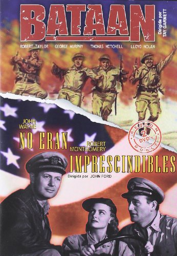 Bataan (1943) + No eran imprescindibles (1945) [2 DVDs] [Spanien Import]