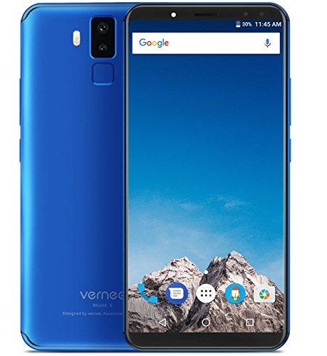 Vernee X1 - FHD de 5,99 pulgadas (relación 18: 9) Smartphone Android 4G, Octacore de 2,0 GHz 6 GB + 64 GB, batería de...