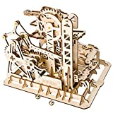 Wovemster Holzpuzzle Mechanischer Bau Modell Kit - 3D Puzzle Verriegelungs mechanismus Grün und Umweltfreundlich, Einzigartiges DIY Geschenk