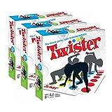 Twister Game Paillasson de jeu mobile Twister groupe de corps de torsion interactif pique-nique jouets de sport en plein air jouets de table pour adultes jeux multijoueurs jeux de joie,White,3*PCS