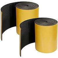Rovtop 2 piezas Protectores para Puertas de Garaje Protectores de Pared para Garaje de 5 mm de Espesor (2 en 1)