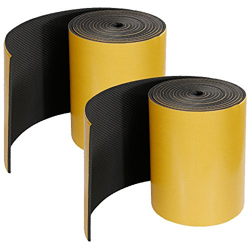 Rovtop - Lot de 2 - 2000*200*5mm - Protection Mural Garage Mousse Protection Garage Anti Choc pour Protection Voiture Garage