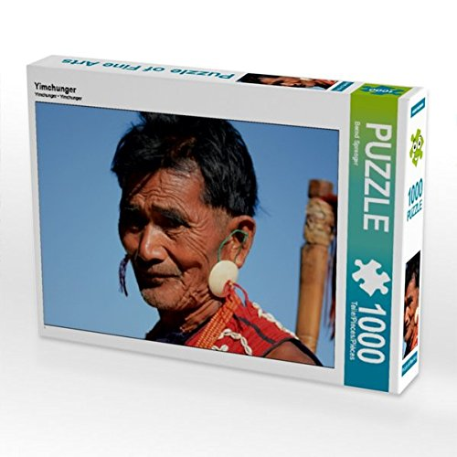 CALVENDO Puzzle Yimchunger 1000 Teile Lege-Größe 64 x 48 cm Foto-Puzzle Bild von Bernd ()