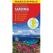 Sardinia Marco Polo Map (Marco Polo Maps)