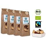 Bio Fairtrade Paranuss-Kerne: Gebacken & Gesalzen (4x60g)