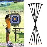 """Funtress 27 """"Fibra de vidrio Arco de succión almohadilla flechas para los niños Las mujeres practican tiro con arco para principiantes Recurvo y compuesto y arco largo"""