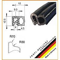 eutras Junta Perfil ksd2055Puerta goma para maletero Junta–Rango de sujeción 1,5–3,5mm–Negro–3M
