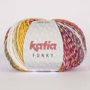 Laine FUNKY Katia 72 Multicolore