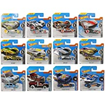 Unbekannt Mattel Hot Wheels 1: 64 Vehículos 5 Pack Plus Pegatinas ...