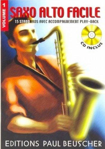 Partition : Saxo facile vol.1 + CD par Collectif