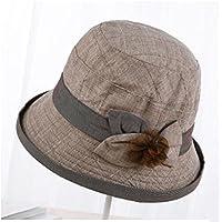 LTQ&qing Sombrero del sol de la moda del verano de la se?ora del sombrero del pa?o de Sun , D , m (56-58cm)