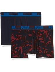Puma Herren Camo Print Boxer 2p Unterhose