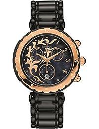 amazon co uk balmain swiss made watches balmain men s balmainia steel bracelet ip steel case quartz watch b5639 36 63