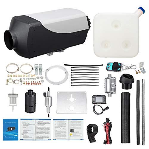 TSEIPOAOI 5000W LCD Schalter Fahrzeug Luft Diesel Heizung Für Autos Lkw Yachten Boote Motor-Homes Bus Air Standheizung (A:12V) -