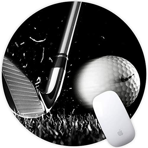 nd Office Mauspad Mit Premium-Textur (200x200x3mm) Wasserdicht Mousepad Rutschfest und Präzise Speed Pad Rubber Base mit Anti-Rutsch-Funktion für Computer, PC und Laptop Golf ()